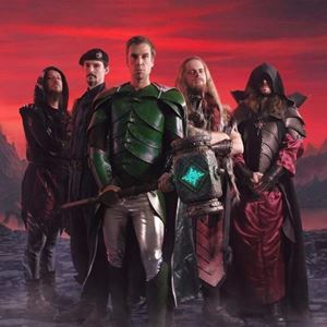 Gloryhammer Masters of the Galaxy Lyrics