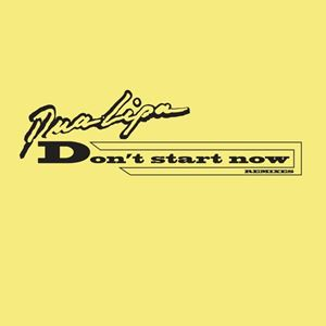 Dua Lipa Don't Start Now Lyrics